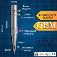Digital Permanent Makeup Tattoo Machine/Tattoo Kit with Gun and Makeup Pen Manufactures