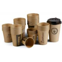 China Disposable white paper coffee cups paper coffee cups bulk custom coffee paper cups on sale