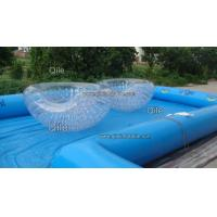 0.8mm PVC Inflatable Half Zorb Ball , Bubble Soccer Ball For Children Or Adult Manufactures
