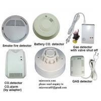 Wireless Smoke Fire Detector and gas leakage detector Manufactures