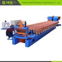 12-15m/Min Klip Lok Roof Panel Roll Forming Machine Touching Screen Control Manufactures