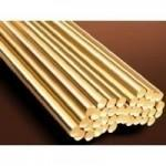 Polished Surface Copper Round Rod / Copper Round Bar 1 - 800mm Diameter Manufactures