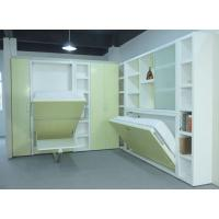 Horizontal Home Use Space Saving Murphy Wall Bed Hidden Wall Bed With Table Manufactures