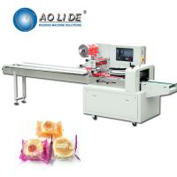 China Rotary Up Paper Bakery Packaging Equipment / Pillow Wrapping Machine on sale