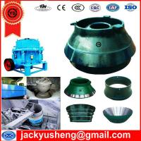 crusher parts, crusher spare parts, cone crusher parts Manufactures