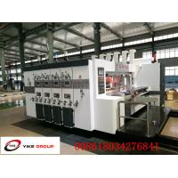 Corrugated Cardboard Flexo Printer Slotter Machine Die Cutter Machine Full Automatically Manufactures