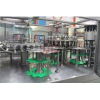Herbal Tea / Juice Hot / Plastic Korea Rice Wine Bottle Filling Machine With SEW Motor Manufactures
