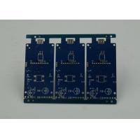 Buy cheap Blue Solder Masking Controlled Impedance PCB with BGA Gold Plating from wholesalers