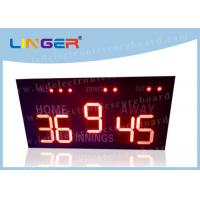 16 Inch 400mm LED Baseball Scoreboard For High School Simple Operation Manufactures
