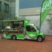Electric Food Car/Truck with 2-seat and 40kph Maximum Speed Manufactures