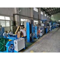 70+35mm Pvc Insulated Wire Extrusion Machine / Cable Making Machine