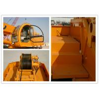 2500r / Min Truck Bed Mounted Crane , 25000kg Lifting Weight Hydraulic Truck Bed Crane Manufactures