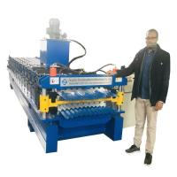 Buy cheap High Configuration Corrugated sheet / IBR Roof Panels Roll Forming Machine from wholesalers