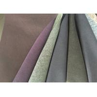 Multi Function Double Faced Wool Fabric Anti - Static For Overcoat Manufactures