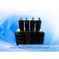 China EFP/ENG camera fiber optic connection system support tally,remote,intercom,genlock,part-line etc.. on sale