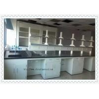 China 3000 mm Length  Chemistry Laboratory Table For School Fire - Resistant on sale