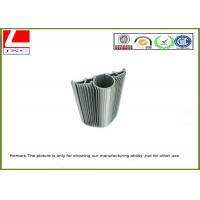 High Speed Machining Anodized Surface Extruded Aluminum Heatsink for flex led strip furniture Manufactures