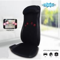 China Triple Action Massage Seat Cushion Heat Shiatsu Rolling Massage With Programmable Remote on sale