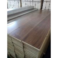 China premium Wide Plank American Walnut Engineered Flooring, single strip on sale