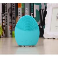China Household Silicone Sonic Facial Cleanser Facial Skin Deep Cleaning CE ROHS FDA on sale