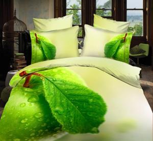 China Super soft 100gsm bedclothes duvet cover with zipper 3d duvet cover set on sale