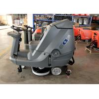 Driving Type Battery Powered Floor Scrubber High Efficiency 5200 M2 Per Hour Manufactures