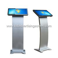 China Full HD Touch Screen Kiosk 18.5inch Floorstand PC All-in-One Win 10 Touch Podium on sale