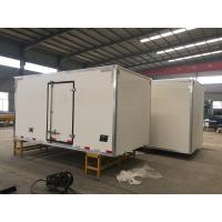 China Sinotruk Refrigerated Loads For Trucks , 6x4 Small Refrigerated Truck on sale