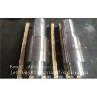 Open Die Forged Alloy Steel Carbon Steel Shaft / Forging Products Manufactures