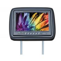 China Multi - Color Lcd Headrest Monitor / 9 Inch Headrest Car Dvd Player on sale