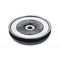 Black Flanged Pulley Guide With Ceramic Coating / Bearing Wire Guide Manufactures