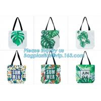 Custom Printed Cartoon Rope Handle Bag Cotton Canvas Carry Tote Bag Shopping Bag,reusable heavy duty cotton canvas tote Manufactures