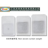 Non Woven Lead Curtain Weights 13-14-23G / PCS , shower curtain weight Manufactures