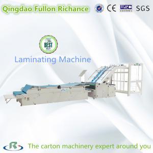 High Speed Adsorption Semi-Automatic Cold Paper Laminating Machine