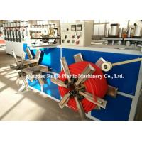 China Single Wall Corrugated Pipe Production Line Plastic Electrical Wire Conduit Good Flexibility on sale