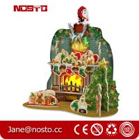 DIY 3D Puzzle Christmas Toy with RGB lights Giftware Manufactures