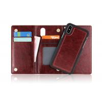 Anti Drop Folio Phone Case Premium Quality Materials With Magnetic Flip Closure Manufactures