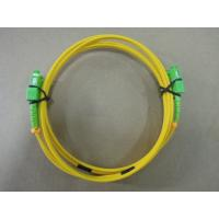 China 2.0mm PBT SM Duplex Optical Fiber Patch Cord Telecom Grade With SC / APC Connector wholesale