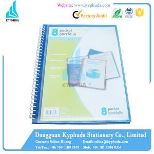 Paper plastic spiral folder Manufactures