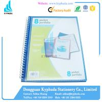 Buy cheap Paper plastic spiral folder from wholesalers