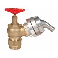 Brass 2.5 Fire Hydrant Landing Valve OEM / ODM For Water Applications Manufactures