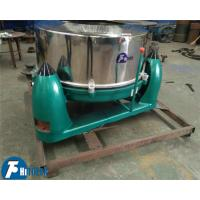 China Manual Sludge Dewatering Industrial Basket Centrifuge For Textile / Pharmaceutical / Metallurgy Industry on sale