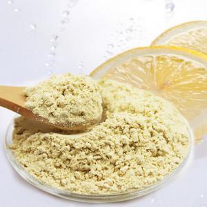 high quality freeze dried lemon powder factory price/high quality lemon flavor powder Manufactures