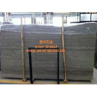Polished Coffee Wood Vein Marble Stone Slab/ Tile/ Wall Tile Manufactures