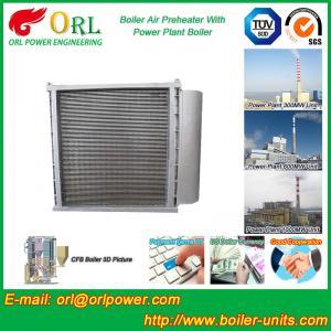 Anti Wind Pressure Tubular Type Air Preheater In Boiler Galvanized Steel Manufactures
