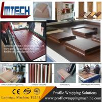 high gloss kitchen cupboard doors membrane press machine for sale Manufactures