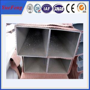 Best quality unique aluminum extruded profile square tube Manufactures