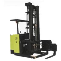 AC Motor Reach Stacker Forklift With Standing Posture 3783 X 1445 X 3162mm Manufactures