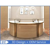 Luxury 3D Design Jewellery Showcases / Glass Jewellery Display Cabinets Manufactures