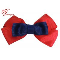 China Decorative baby Girls hair bows various colour customized Patterns wholesale